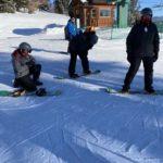 Butler family going snowboarding